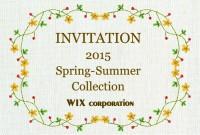 「2015春夏 メンズ&レディース_アンダーウエア展示会」のご案内